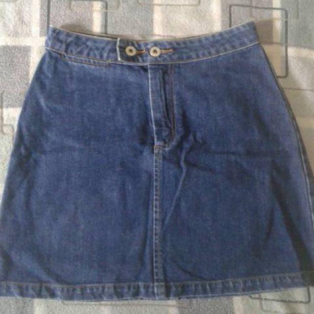 Skirt Denim / Rok Jeans