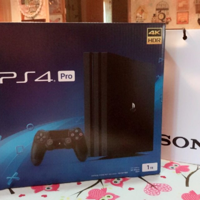Sony PlayStation 4 Pro bundle (brand new in box) (sold at