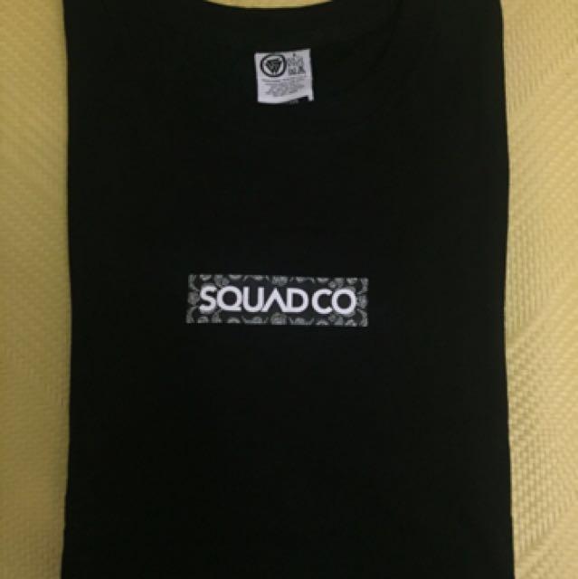 Squad 短袖 上衣 全新