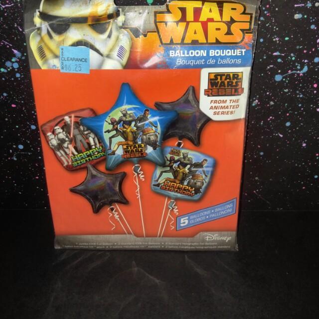Star wars balloon bouquet pack