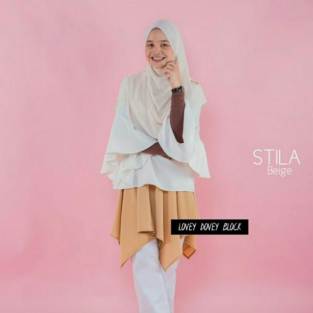 5170e2b5a STILA MINI SKIRT | The Assymmetrical Mini Skirt, Muslimah Fashion on  Carousell