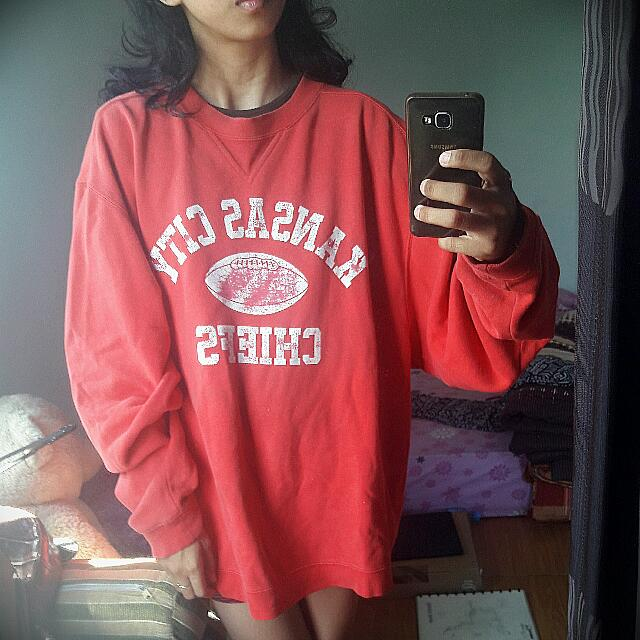 Sweater Vintage Reebok Ori L