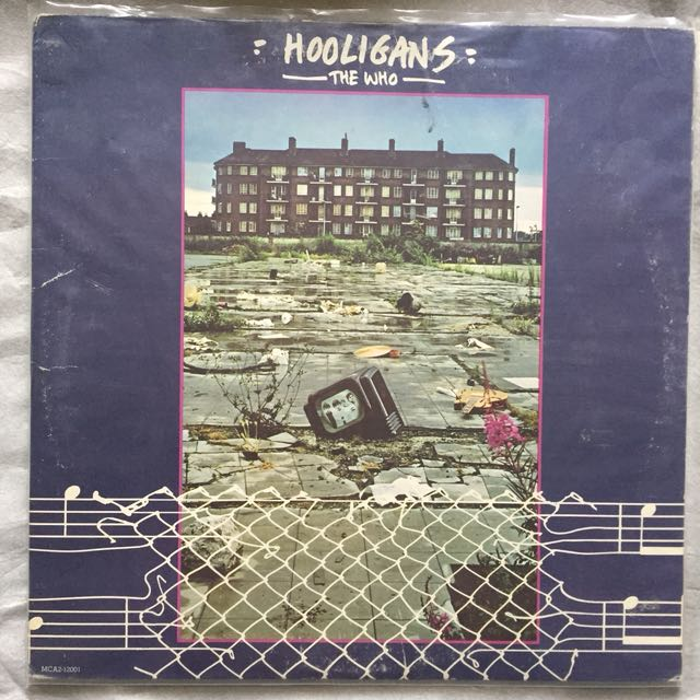 The Who - Hooligans (Best of The Who) vinyl 2LP