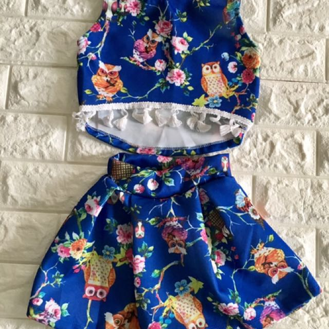 trendy terno for 1 to 2 yo