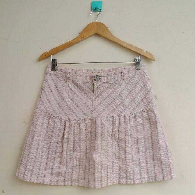 Triset Cream Skirt
