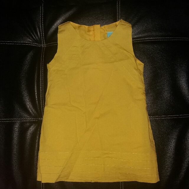 Twilo Yellow Sunday Dress