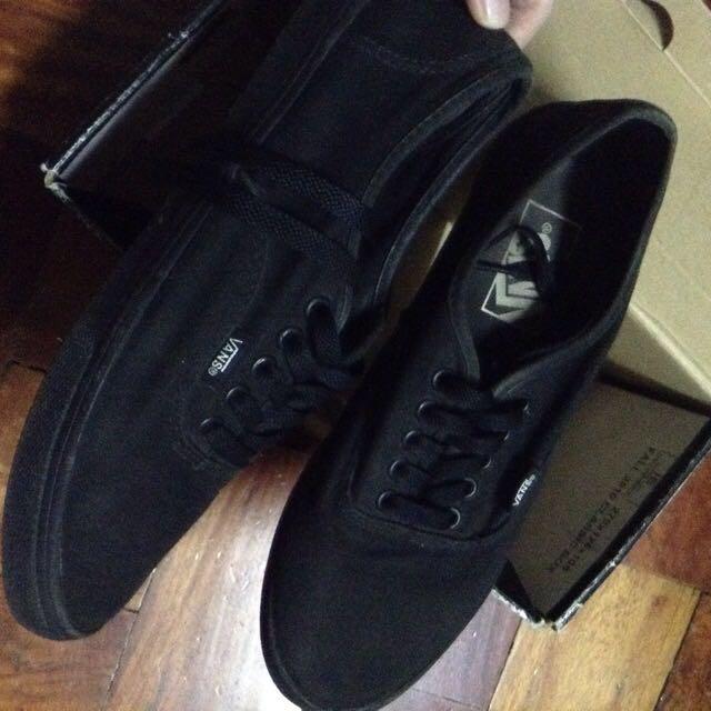 vans lo pro all black