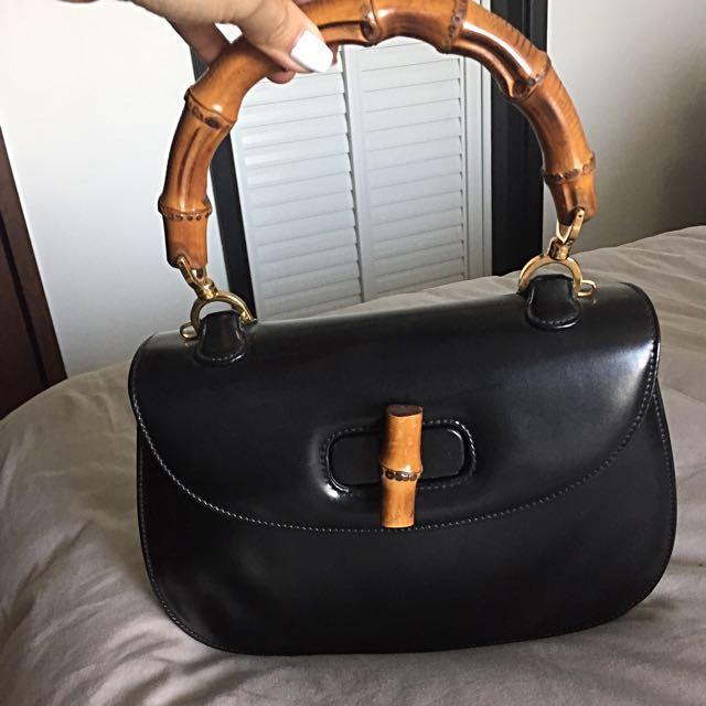 e6b6c63d22d Vintage Gucci Bamboo Classic Bag