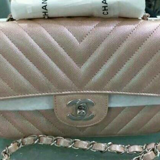 6909fdd1b9f5aa want to buy chanel mini rosegold caviar, Luxury, Bags & Wallets on ...