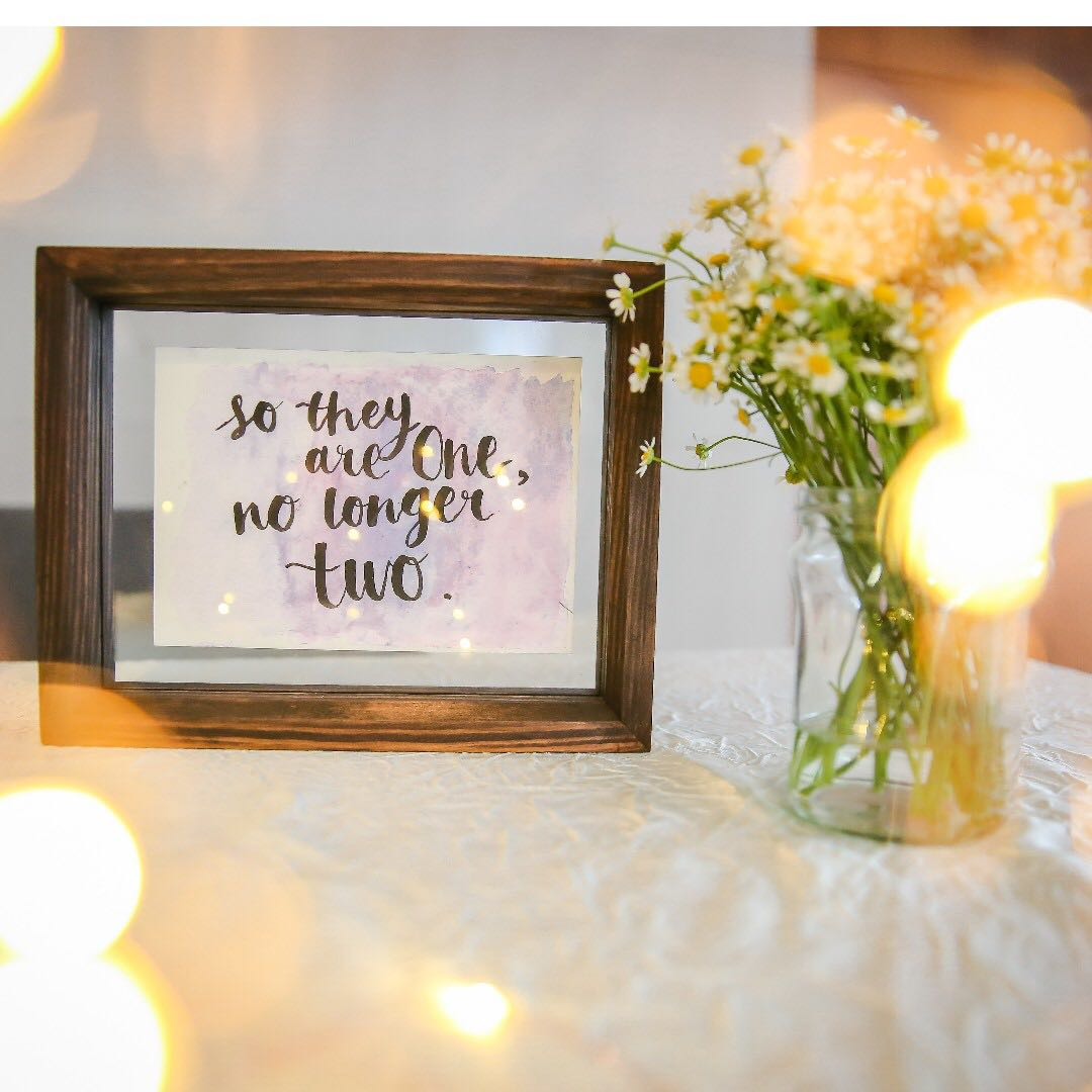 Wedding Decor Quotes Everything Else On Carousell