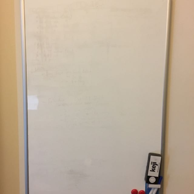 Whiteboard & Magnets & Markets