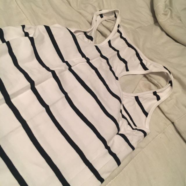 Women's Size XS Striped Summer Dress