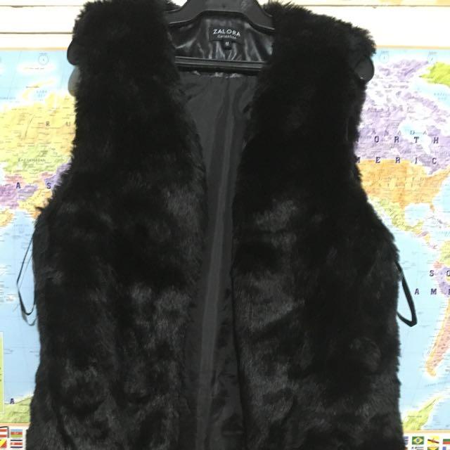 Zalora Sleeveless Coat