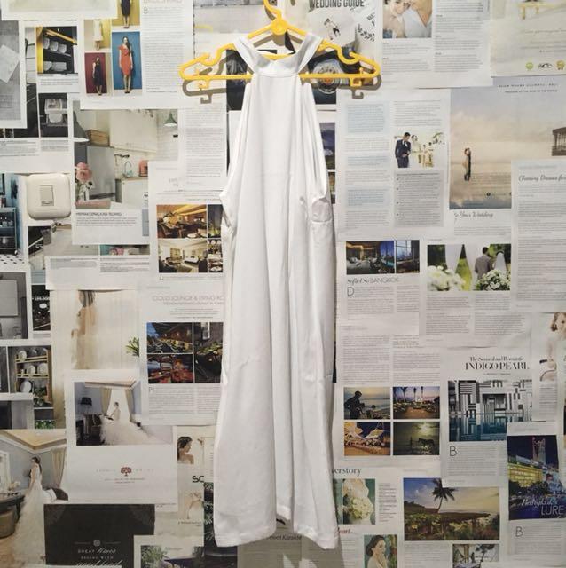 Zalora white dress (size xs)