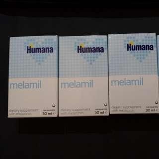 德國 Humana melamil 改善兒童睡眠障礙