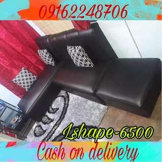 L shape sofa set sala set