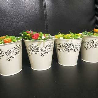 Wedding Decor Flower Pots