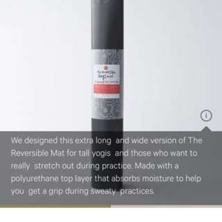Lululemon Reversible (Big) Yoga Mat - Black - 5MM