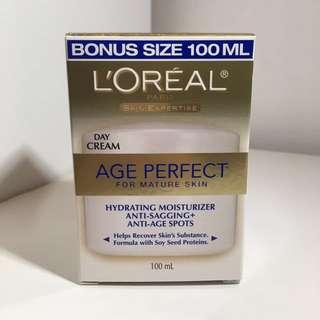 BNIB L'Oreal Age Perfect Mature Skin Face Cream