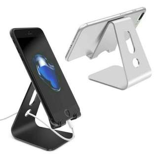 Universal Mobile Phone Stand Holder Aluminium Alloy For Charging Stand Mount