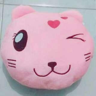Bantal Cat Pink