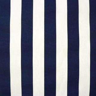 BN Black White or Dark Blue White Stripes Textile Fabric (*LIMITED AVAILABLITY)