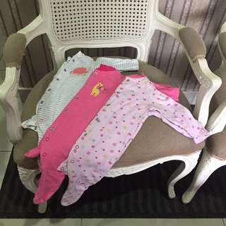 Mothercare sleepsuit 0-3months