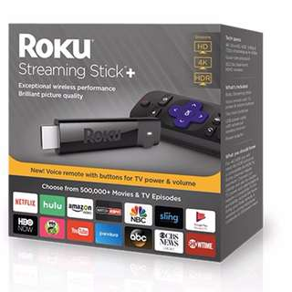 Roku Streaming Stick+ 3810R (Latest 2017 Model with 4K HD Support)