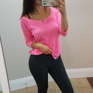 Hollister Half Sleeve Top