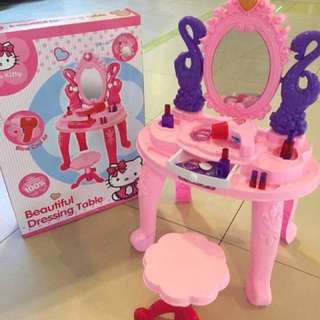 Hello kitty dressing table set for kids