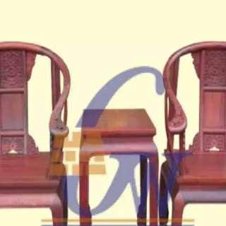 vintage china emperor chair