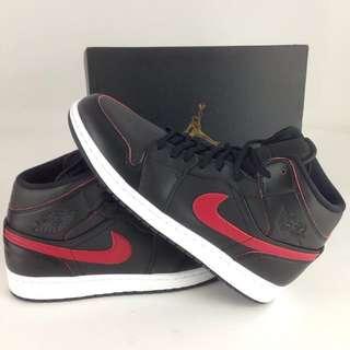 降❗️全新Nike•AJ•Air Jordan•黑紅/喬丹鞋一代/高筒/28cm/US10