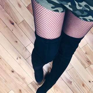 Size 11 Vince Camuto thigh high boots