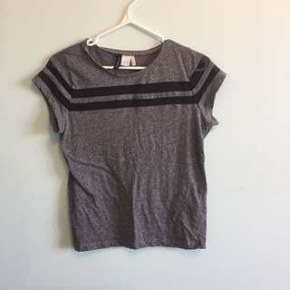 H&M grey shirt