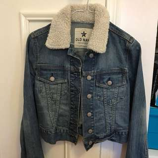 Size XS OLD NAVY jean jacket