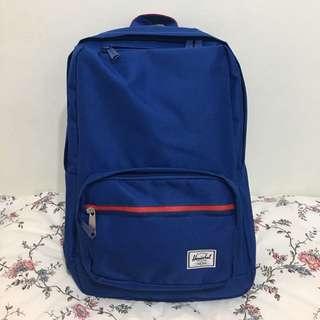 (全新 正品)Herschel 深藍色 筆電包 後背包