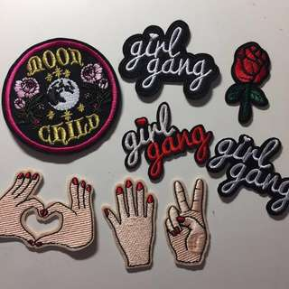 IRON ON PATCHES !!!!! HIGHER QUALITY