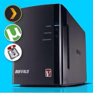 Buffalo Linkstation 4 bay LS-QVL with zero HDD - 7/10