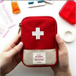 First Aid Pouch Travel Size