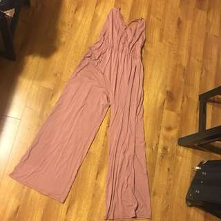 Mauve Jumpsuit with tags