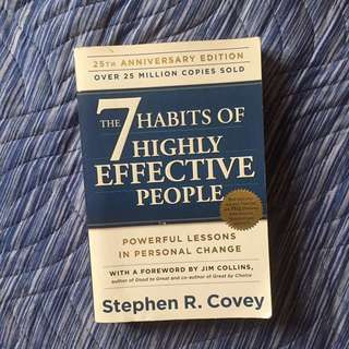 7 Habits for Effective People