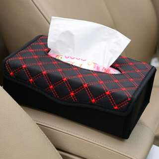 Tissue Box for Use in Cars or in Office