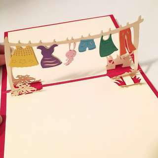 Laundry / Wedding / Flower Gift Card