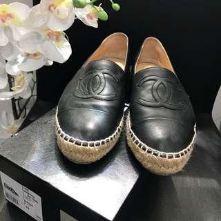 Auth Chanel espadrilles size 40