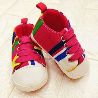 Soft Sole Anti Slip Pre Walker Shoes