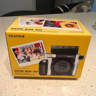 Instax wide brand new camera (black grey)