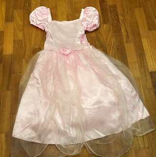 Beautiful pink princess dress for party or dress up