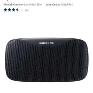 BNIB Samsung Waterproof Bluetooth Speakers