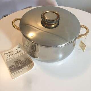 Demeyere 24k Inca Gold Pot
