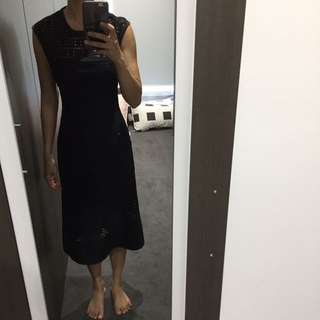 Saba black dress